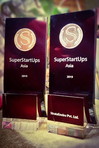 StrataEnviro Awarded @ SuperStartup Asia 2019 - Winner