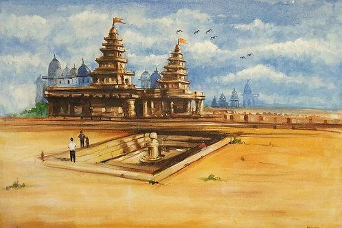 Temple Landscape - CP1007