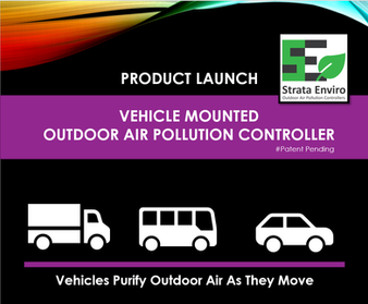 Vehicle Mounted Outdoor Air Pollution Controller Launch & Showcase.
