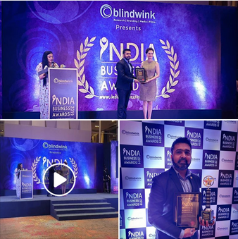 India Business Award 2019 to StrataEnviro