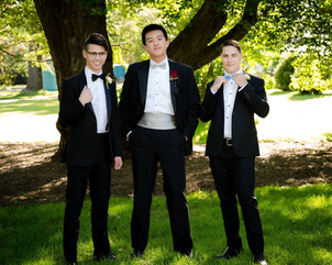 Prom with the boys