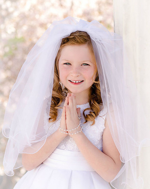 First Holy Communion with Suzanne Claire