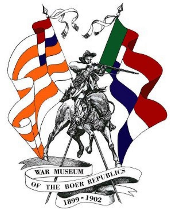 Flags of the Boer republics.