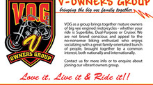 VOG - Love it, Live it & Ride it.