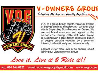 VOG - Love it, Live it & Ride it.