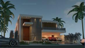 Projeto e Construção NOVO de Residência familiar no  Jardim Acapulco Guarujá.