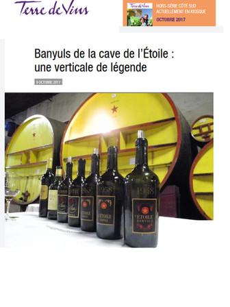 Article Terre de Vins page 1