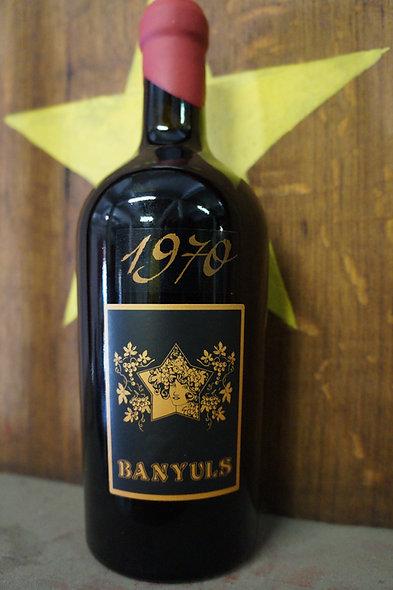 BANYULS MILLÉSIME 1970