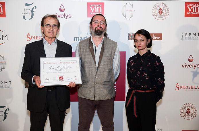 Prix de cave coopérative de l'année 2018