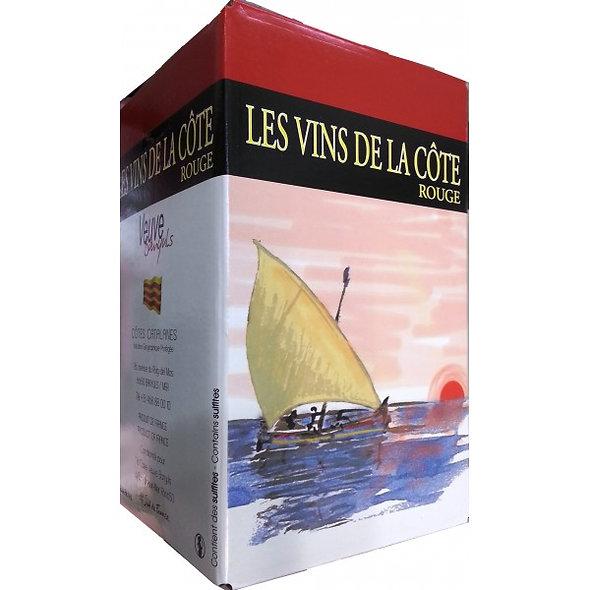BIB® 3L ROUGE FONTAINE À VIN IGP CÔTES CATALANES