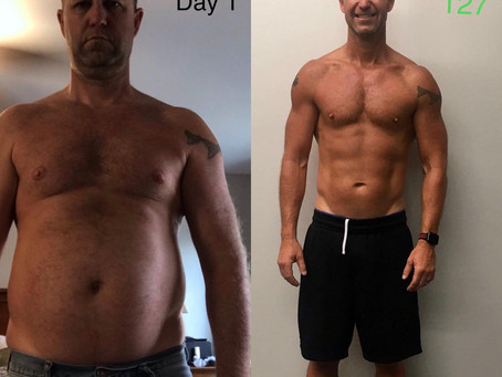 No More Dad Bod (a father's amazing 127 day transformation)