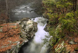 Weston, CT--Upper Falls Devil's Glen