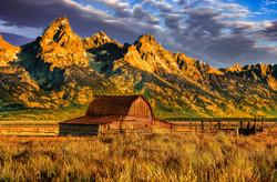Wyoming - John Moulton Barn
