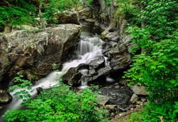 Weston, CT-Devil's Glen Lower falls