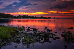 Connecticut - Sunrise On Cove
