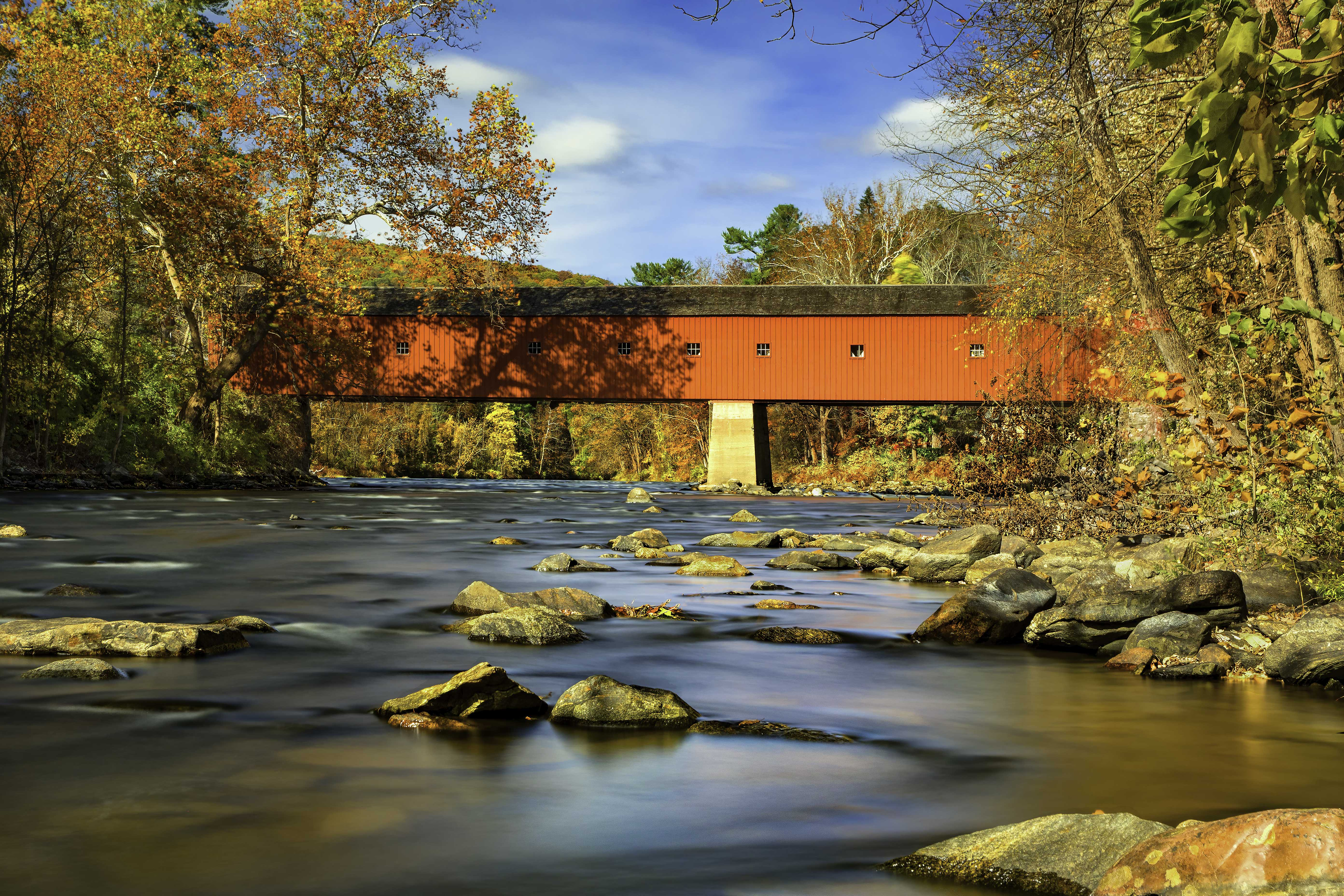 West Cornwall, CT - Covered Bridge