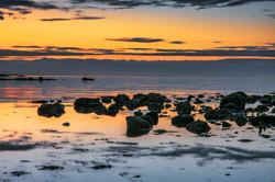 Sunrise With Rocks