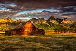 Wyoming - T.A. Moulton Barn