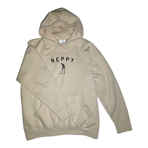 Heavyweight Jersey Skelly Hoodie (Natural)