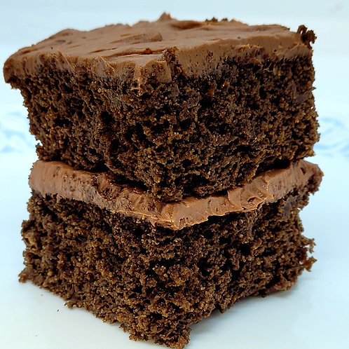 Keto Chocolate Buttercream Cake, Sugar Free, Gluten Free, Diabetic