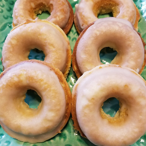 Keto Creme Donuts, Sugar Free, Low Carb, Gluten Free, Diabetic, Ketogenic