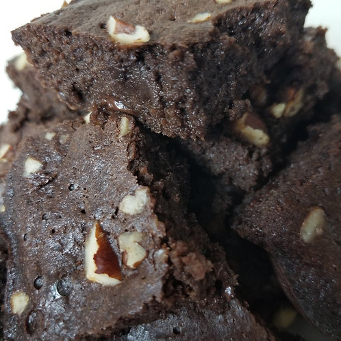 Keto Fudge Brownies, Sugar Free, Low Carb, Gluten Free, Diabetic, Ketogenic