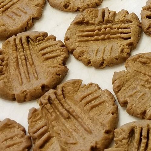 PEANUT BUTTER Cookies, Keto, Sugar Free, Low Carb, Gluten Free, Diabetic