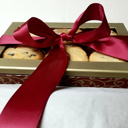 Holiday Cookie Gift Box Keto, Sugar Free, Low Carb, Gluten Free, Diabetic