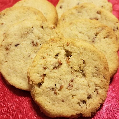 Pecan Sandies Butter Cookies Keto, Sugar Free, Low Carb, Gluten Free, Diab