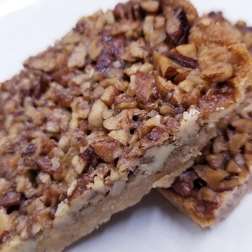 Keto Pecan Pie Bars, Sugar Free, Gluten Free, Diabetic, Ketogenic, No Eggs