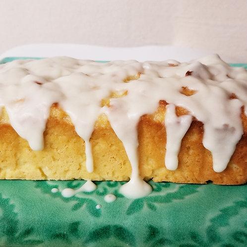 Keto Lemon Loaf Cake, Sugar Free, Low Carb, Gluten Free, Diabetic, Ketogenic