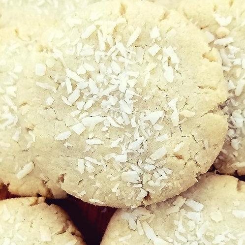 Keto Chewy Coconut Cookies, Sugar Free Cookies, Low Carb Cookies, Gluten Free