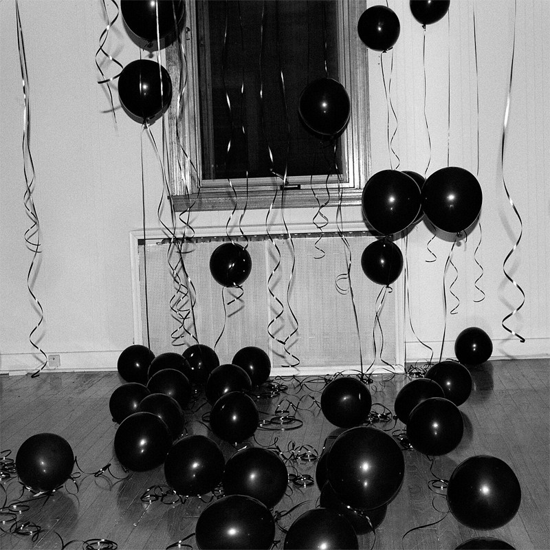 "Olivia Locher: Another Day On Earth (Broken Party), 22"" x 22"", 2010"