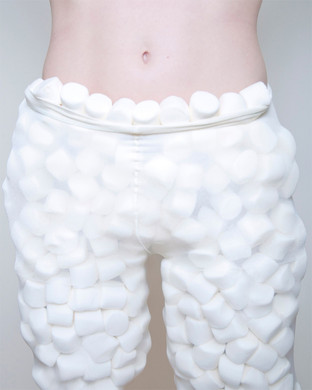 """Olivia Locher: Another Day On Earth (Untitled Marshmallow Pants), 16"""" x 20"""", 2012"""