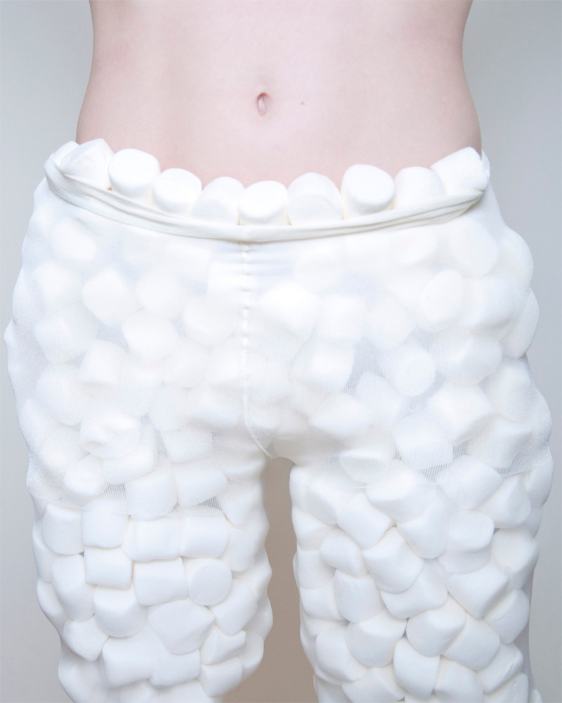 "Olivia Locher: Another Day On Earth (Untitled Marshmallow Pants), 16"" x 20"", 2012"