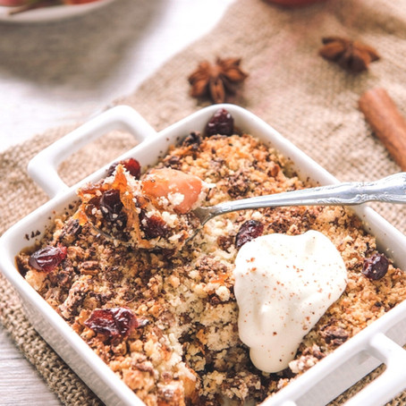 Healthy-ish Apple Crisp
