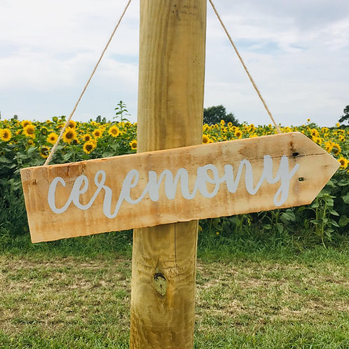 Directional Hanging Signs