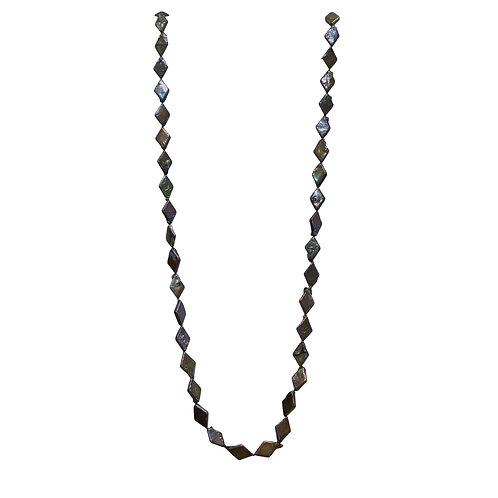 Brown Marquis Pearl Necklace