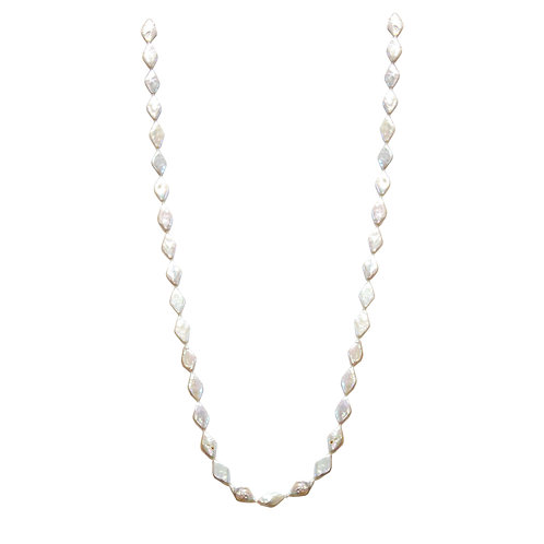 Marquis Shaped Pearl Necklace