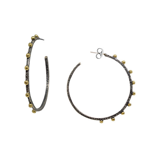 Large Ball Accent Hoops