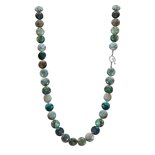 Round Chrysocolla Necklace