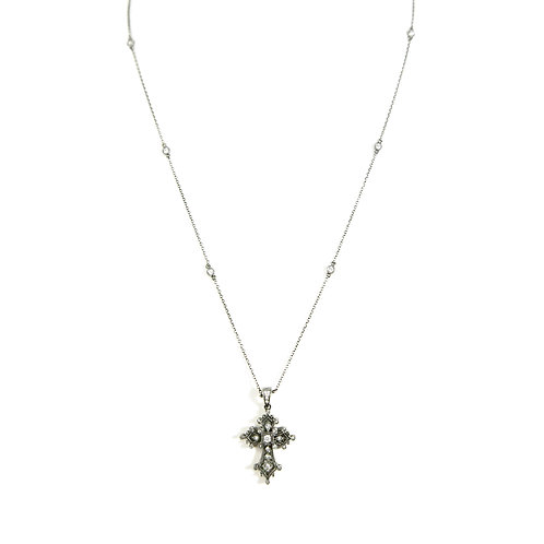 KC Designs Diamond Cross Necklace