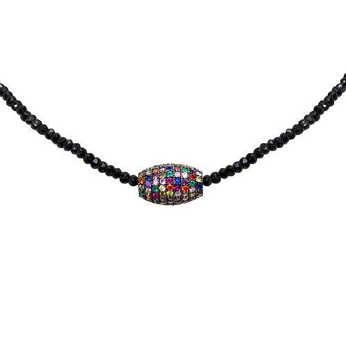 Muti Colored Short Necklace