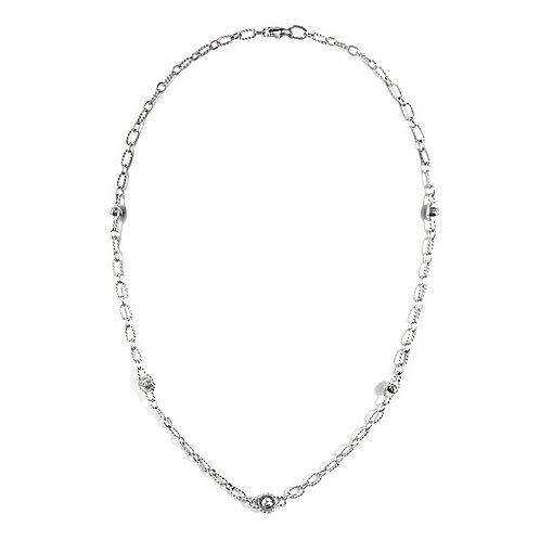 Double Sided Diamond Necklace