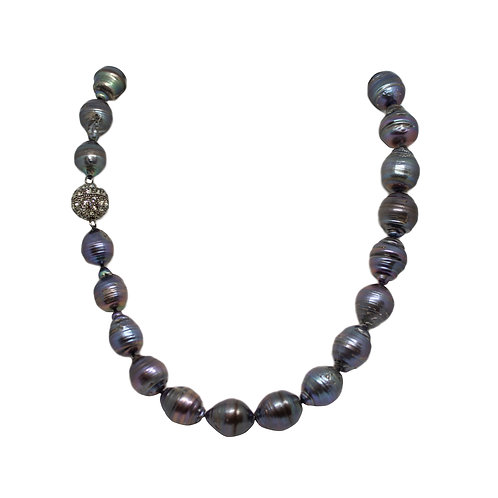 Peacock Chinese Pearl Necklace