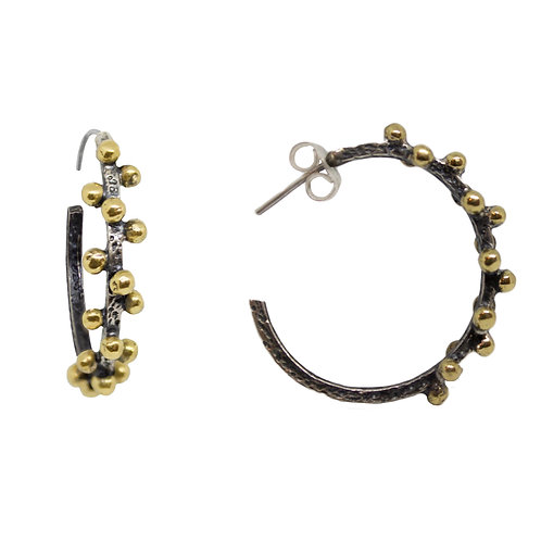 Small Double Ball Hoops