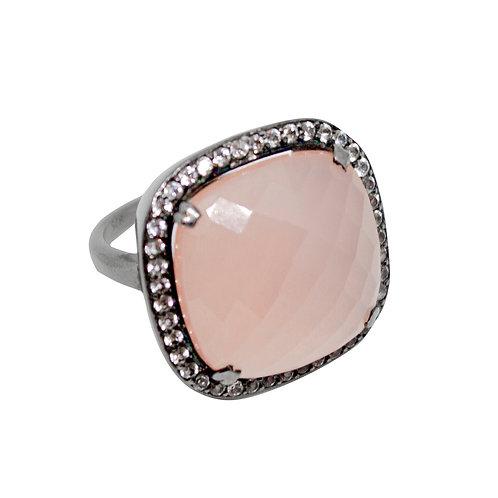 Roze Quartz Ring