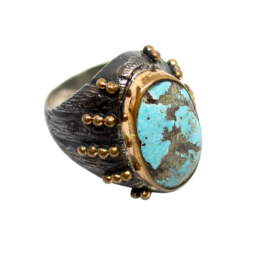 Turquoise Ball Ring