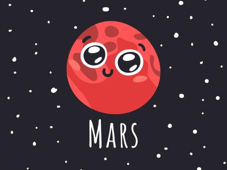 Марс перешел в знак Тельца