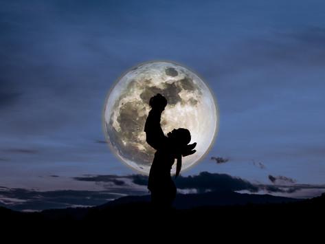 Луна в карте ребенка и взрослого